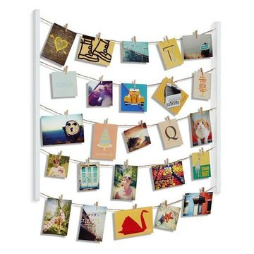 Umbra Hangit Photo Display - DIY Picture Frames Collage Set Includes Picture Han