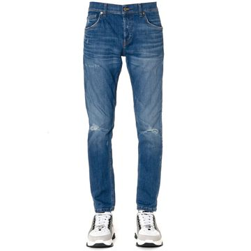 Dondup Blue Mius Cotton Jeans