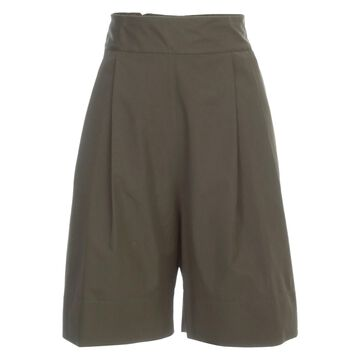 Aspesi Shorts Popeline Elastic Behind