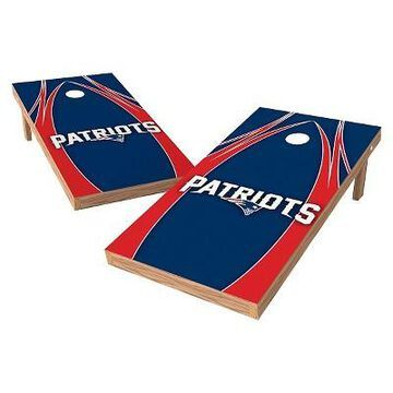 NFL Wild Sports XL Shield Logo Cornhole Bag Toss Set - 2x4ft