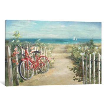 iCanvas ''Summer Ride Crop'' by Danhui Nai