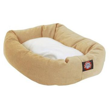 Majestic Pet Sherpa Bagel Dog Bed