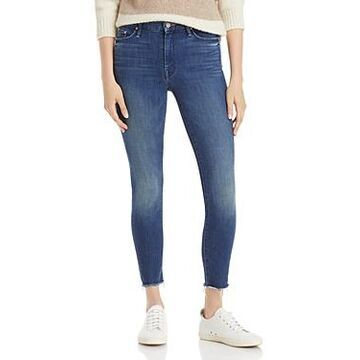 Mother The Looker Frayed Ankle Jeans in Bazaar Adventures