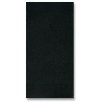 200100 Fashnpoint Black Paper Dinner Napkins, Ultra Ply - 15.5 x 15.5 in.