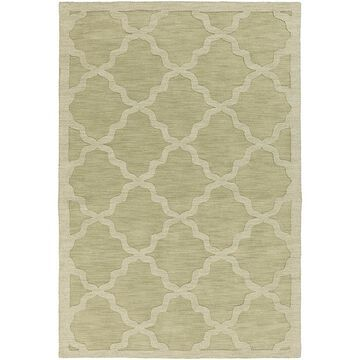 Artistic Weavers Central Park Abbey 3' X 5' Handcrafted Area Rug In Sage Green