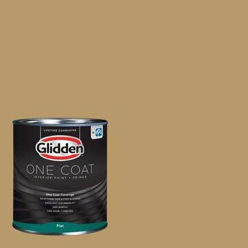 Glidden One Coat Interior Paint and Primer, Namaste/Green, 5 gallons, Flat