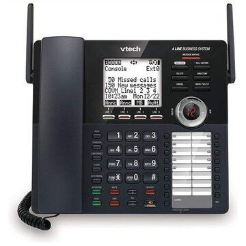 VTech AM18447 Full Duplex Base SpeakerPhone w/ 4-Way Conferencing