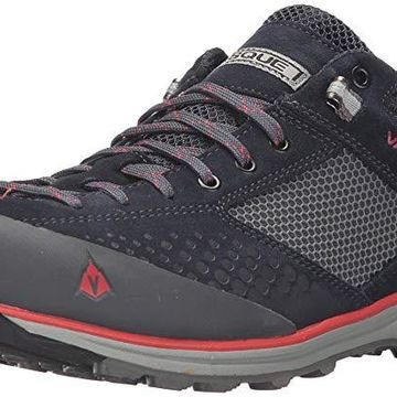 Vasque Imported Rubber Sole Mens Grand Traverse Hiking Shoe - 11 Navy/Scarlet