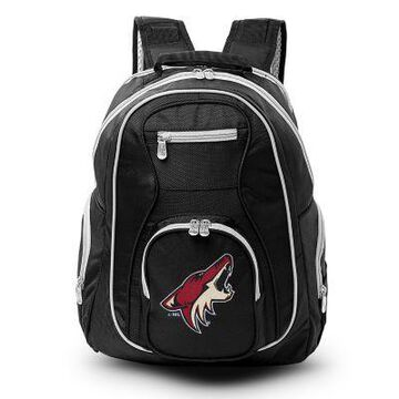 NHL Arizona Coyotes Laptop Backpack in Black