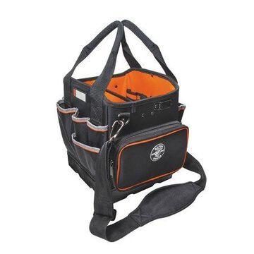 Klein Tools 5541610-14 Black & Orange Tradesman Pro 40 Pocket Tote