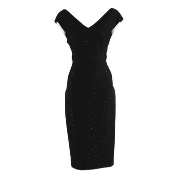 Lela Rose Black Viscose Dresses