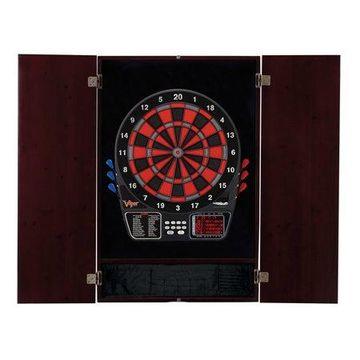 Viper Metropolitan Mahogany Soft Tip Dartboard Cabinet and Viper 797 Electronic Dartboard