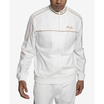 Sean John Velour Men's Track Jacket with Piping