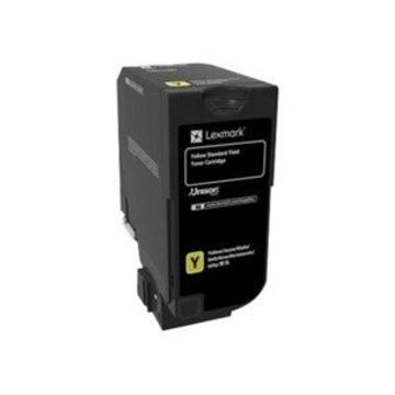 Lexmark - Yellow - original - toner cartridge LCCP, LRP - for Lexmark CS720de, CS720dte