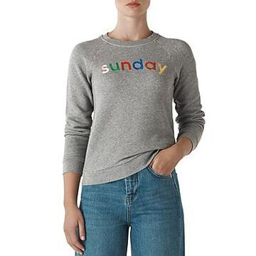 Whistles Sunday Graphic Sweatshirt