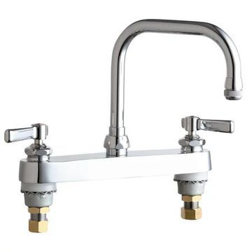 Chicago Faucets 527-AB Commercial Grade High Arch Kitchen Faucet - Chr