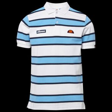 Ellesse Marono Polo Shirt - White / Blue