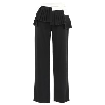 Neil Barrett Black Wool Trousers