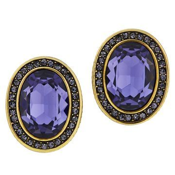 Heidi Daus Tailored Elegance Crystal Earrings