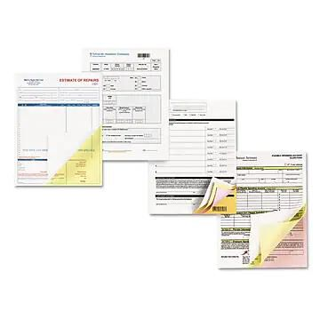 Xerox Bold Digital Carbonless Paper, 8 1/2 x 11, Canary; Pink; White, 2505/Carton (3R12426)