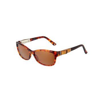 Round Havana Acetate Sunglasses