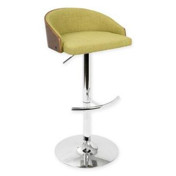 LumiSource Shiraz Bar Stool in Green