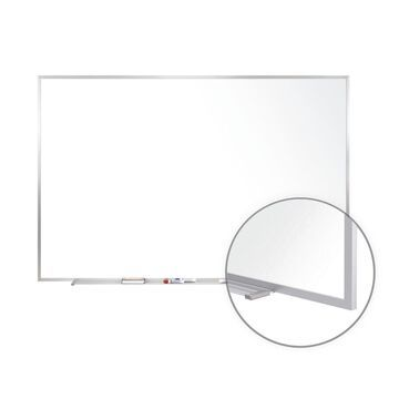 Ghent Non-Magnetic Whiteboard with Aluminum Frame 4H x 5W M2454