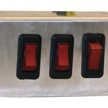 BUYERS PRODUCTS 6391003 Switch Panel,Aluminum