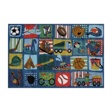 Fun Rugs Supreme Funky Quilt Rug