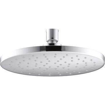 KOHLER Contemporary Polished Chrome 1-Spray Rain Shower Head 1.75-GPM (6.6-LPM) | K-13688-G-CP