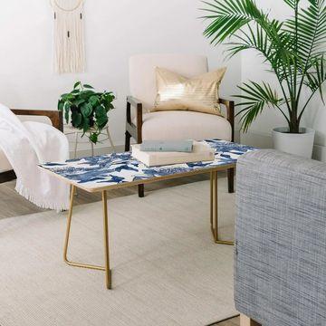 Deny Designs Summertime Indigo Coffee Table