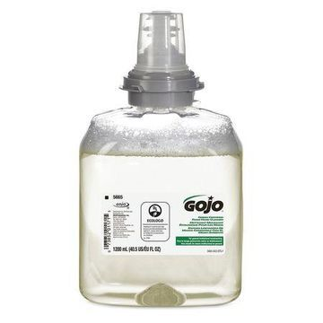 GOJO 5665-02 TFX Clear Foam Hand Soap, Unscented, 1200ml Cartridge