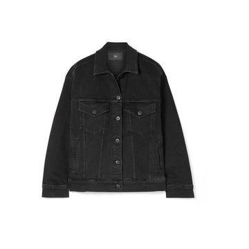 3x1 - Oversized Denim Jacket - Black