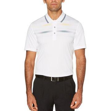 PGA Tour Fusion Chest Stripe Golf Polo