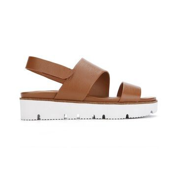 Gentle Souls By Kenneth Cole Lavern Asymmetrical Leather Sandal
