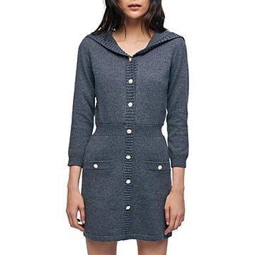 Maje Ralorie Sweater Dress