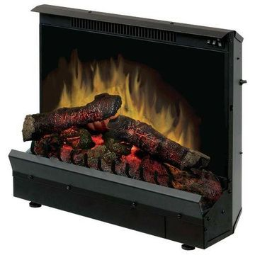 ''Dimplex DFI2310 Electric Fireplace Deluxe 23-Inch Insert, Black''