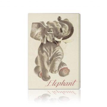 Oliver Gal 'Elephant' Canvas Art