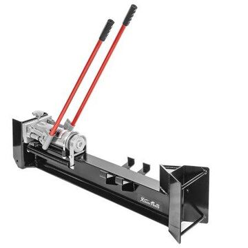 12-Ton Log Wood Log Splitter Wood Cutter Hydraulic Firewood Kindling w/ Wheels