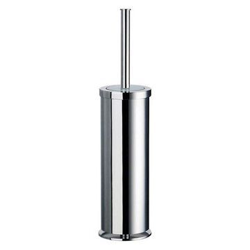 Smedbo 3 3/4 Free Standing Toilet Brush and Holder in Polished Chrome, FK103