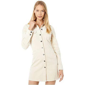 Bardot Utility Cord Dress