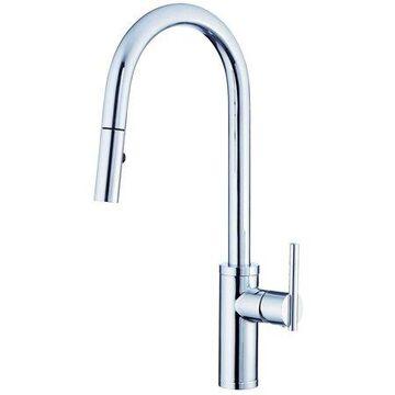 Danze Parma Cafe Pull-Down Kitchen Faucet 1.75 GPM Chrome