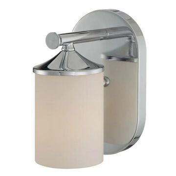 Millennium Lighting 7091 1 Light Bathroom Sconce Chrome Indoor Lighting Bathroom Fixtures Bathroom Sconce