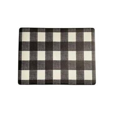 "Elrene Farmhouse Living Buffalo Check Rustic Comfort Anti Fatigue Kitchen Mat, 18""x30"""