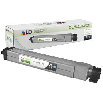 Compatible Xerox 106R01080 / 106R1080 High Yield Black Laser Toner Cartridge for Xerox Phaser 7400 Series