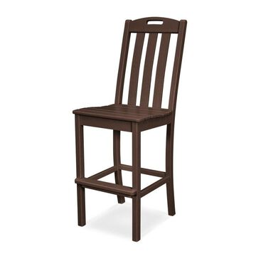 Trex Outdoor Furniture Yacht Club Plastic Stationary Dining Chair(s) with Solid Seat
