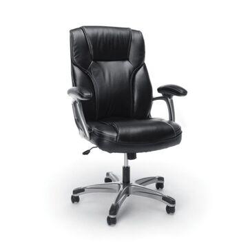 High Back Swivel/Tilt Leather Office Chair - OFM