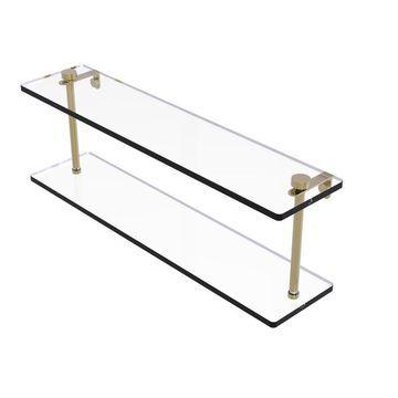 Allied Brass Unlacquered Brass Brass Bathroom Shelf