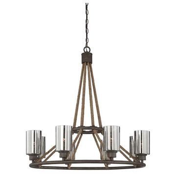 Maverick 8 Light Chandelier (1-5151-8-32)