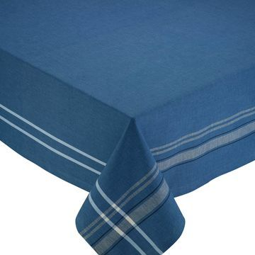 Design Imports French Chambray Tablecloth
